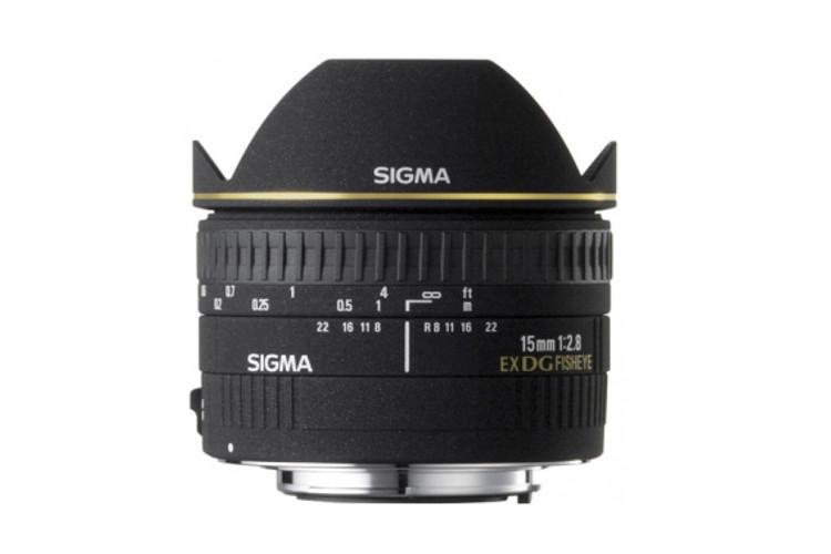 Sigma 15 F2.8 EX DG Fisheye (Canon) 80043399 (kaucja: 580zł)