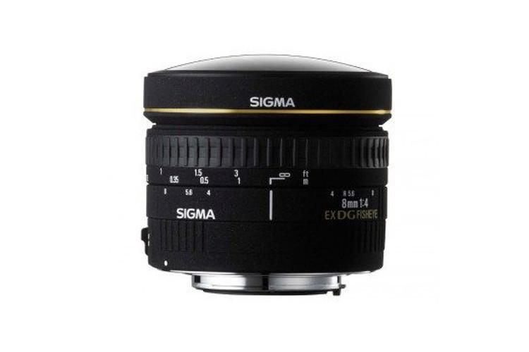 Sigma 8mm F/3.5 EX DG Circular Fisheye (Nikon) 80043397 (kaucja: 680zł)