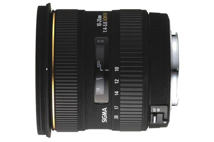 Sigma 10-20mm f.4-5.6 EX DC HSM (Canon) 80043382 (kaucja: 360zł)