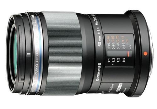 Olympus M.Zuiko Digital ED 60mm 1:2.8 Macro (czarny) 80048388 (kaucja: 440zł)