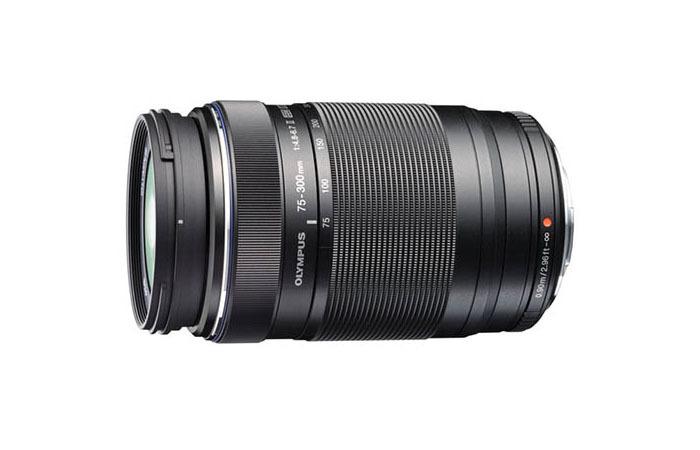 Olympus M.Zuiko Digital ED 75-300mm F4.8-6.7 Ⅱ (czarny) 80048385 (kaucja: 420zł)