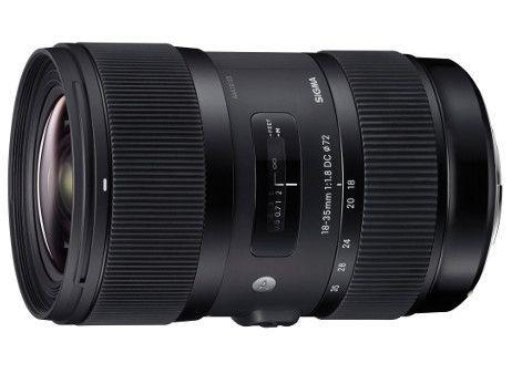 Sigma A 18-35 mm f/1.8 DC HSM (Canon) 80043425 (kaucja: 600zł)