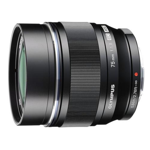 Olympus M.Zuiko Digital 75 mm f/1.8 ED (czarny) 80048403 (kaucja: 770zł)