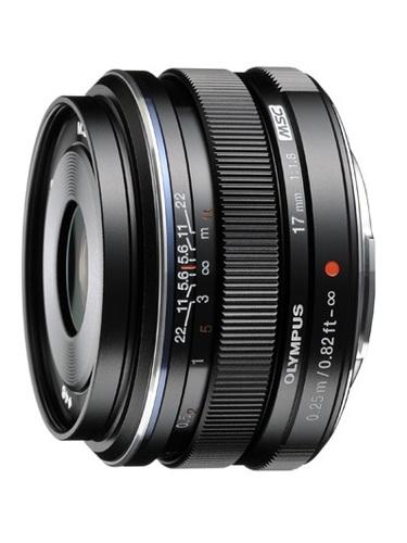 Olympus M.Zuiko 17mm f/1.8 (czarny) 80048406 (kaucja: 420zł)