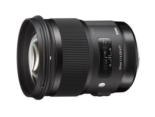 Sigma A 50 mm f/1.4 DG HSM (Canon) 80043370 (kaucja: 660zł)
