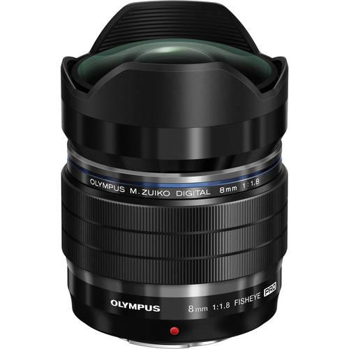 Olympus ED 8mm f/1.8 Fisheye PRO 80048405 (kaucja: 800zł)