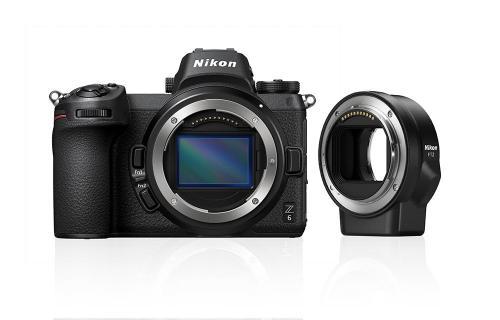 Nikon Z6 (body) + adapter FTZ + karta XQD 64GB 80056525 (kaucja: 3000zł)