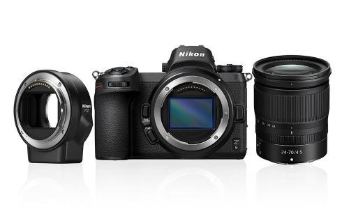 Nikon Z6 24-70mm f/4 S + adapter FTZ + karta XQD 64GB 80056526 (kaucja: 3800zł)
