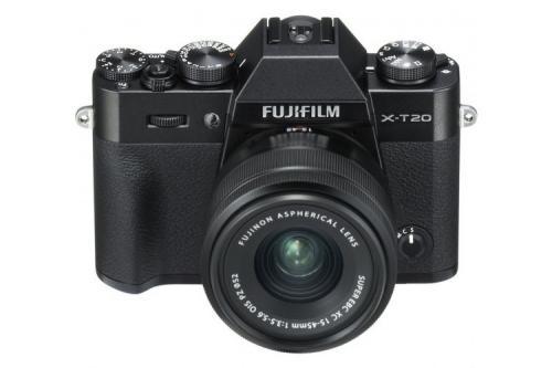 Fujifilm X-T20 Body z ob. FUJINON XC 15-45mm F/3.5-5.6 OIS PZ 80055431 (kaucja: 1000zł)