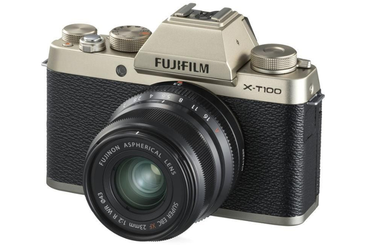 FujiFilm X-T100 + ob. XC 15-45 mm f/3.5-5.6 OIS PZ 80055433 (kaucja: 600zł)
