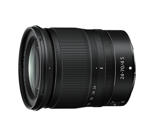 Nikon NIKKOR Z 24-70mm f/4 S + karta XQD 64GB 80056534 (kaucja: 800zł)